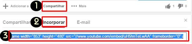 Codigo responsivo youtube