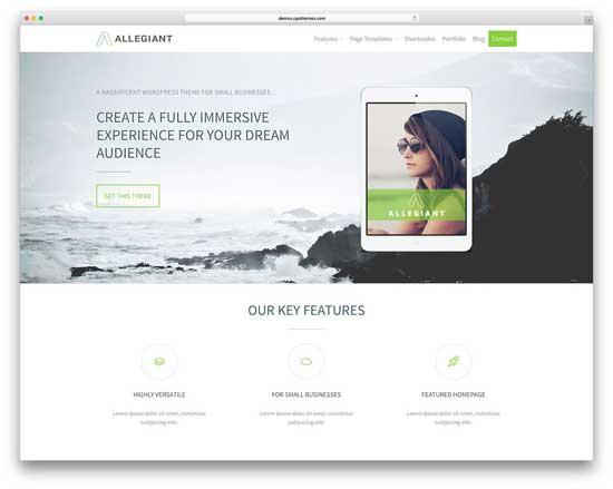 criação de sites para fotografias