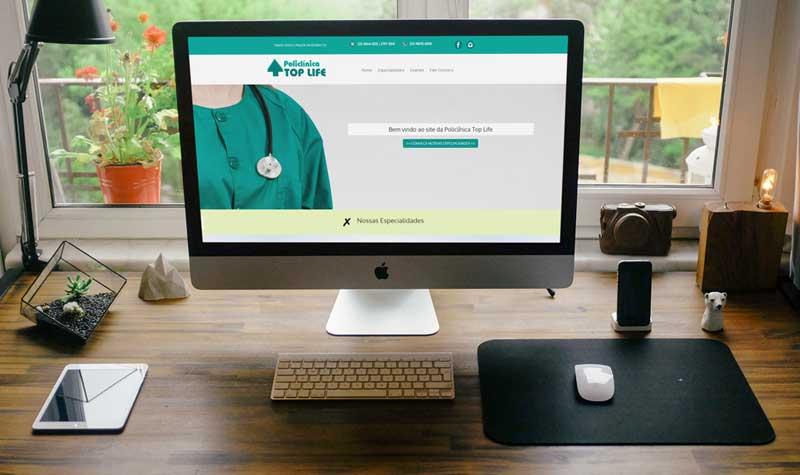 Criação de Sites RJ clínica médica