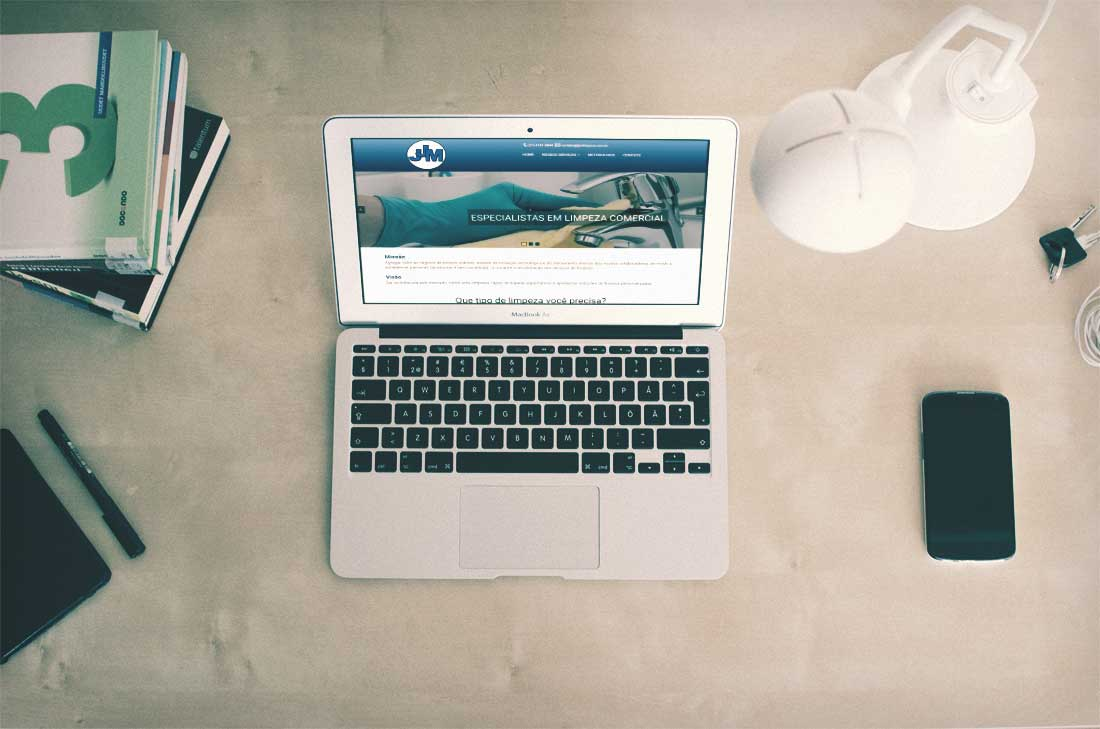 criação de sites para empresa de serviço de limpeza